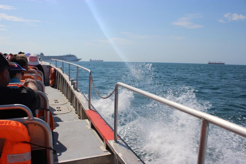 MSC Sinfonia boat taxi