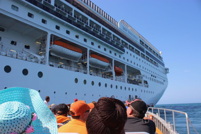 MSC Sinfonia Cruise to Mozambique