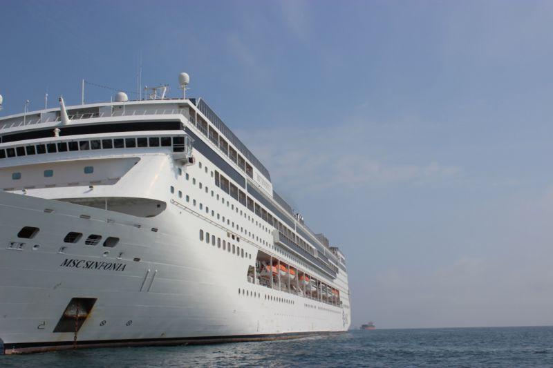 MSC Sinfonia cruise liner