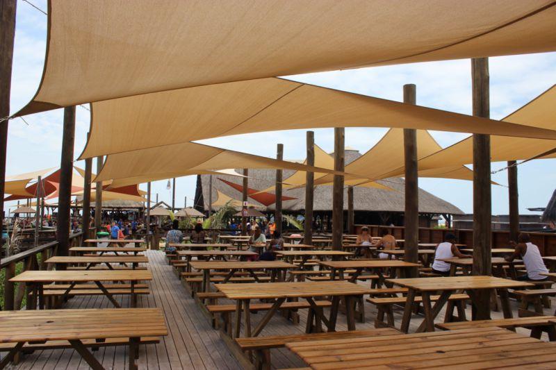 Portuguese Island lunch area
