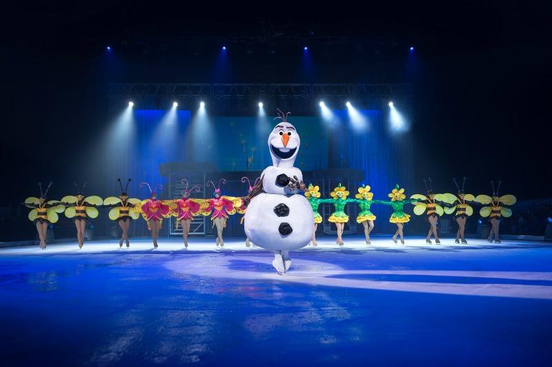 OLAF Disney On Ice © Disney