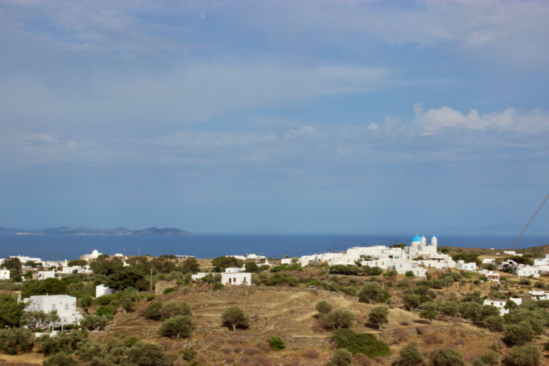 the greek island of sifnos