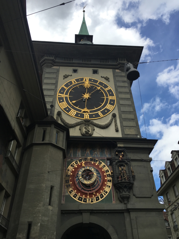 bern clock switzerland