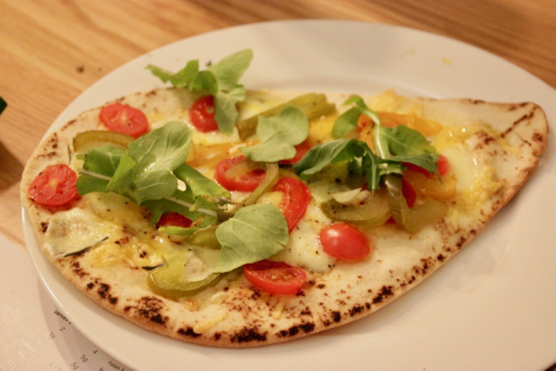 Easy Cheesy Flatbread Daily Dish