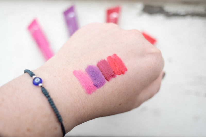 L'Oreal Infallible Matte Lip Paint Swatches