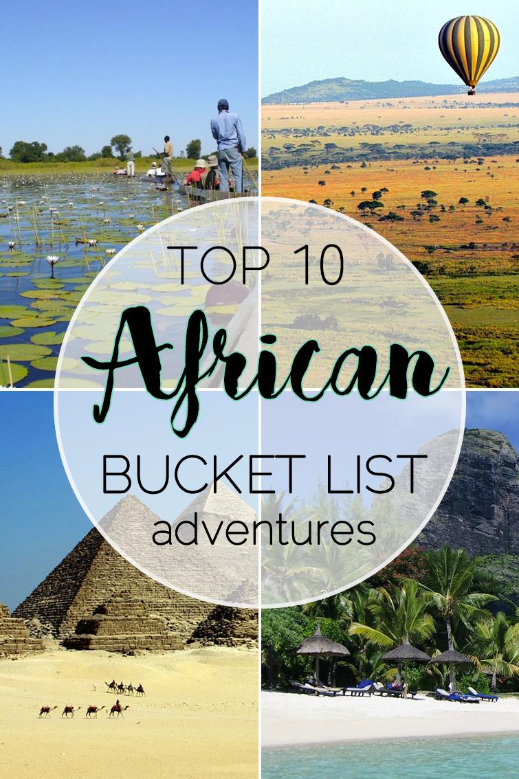 African Bucket List