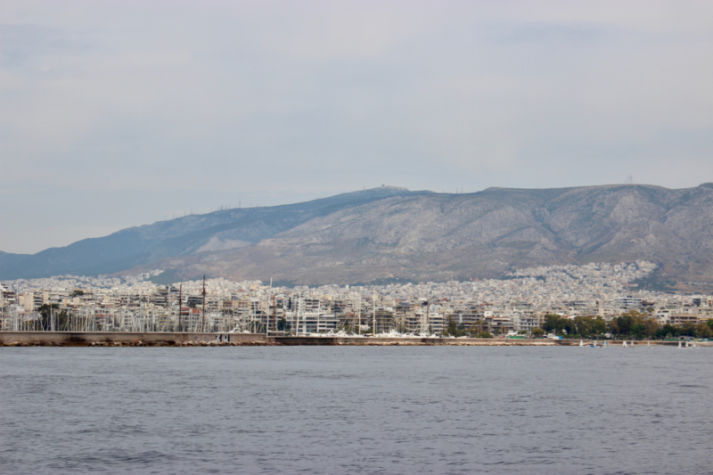 sailing from athens