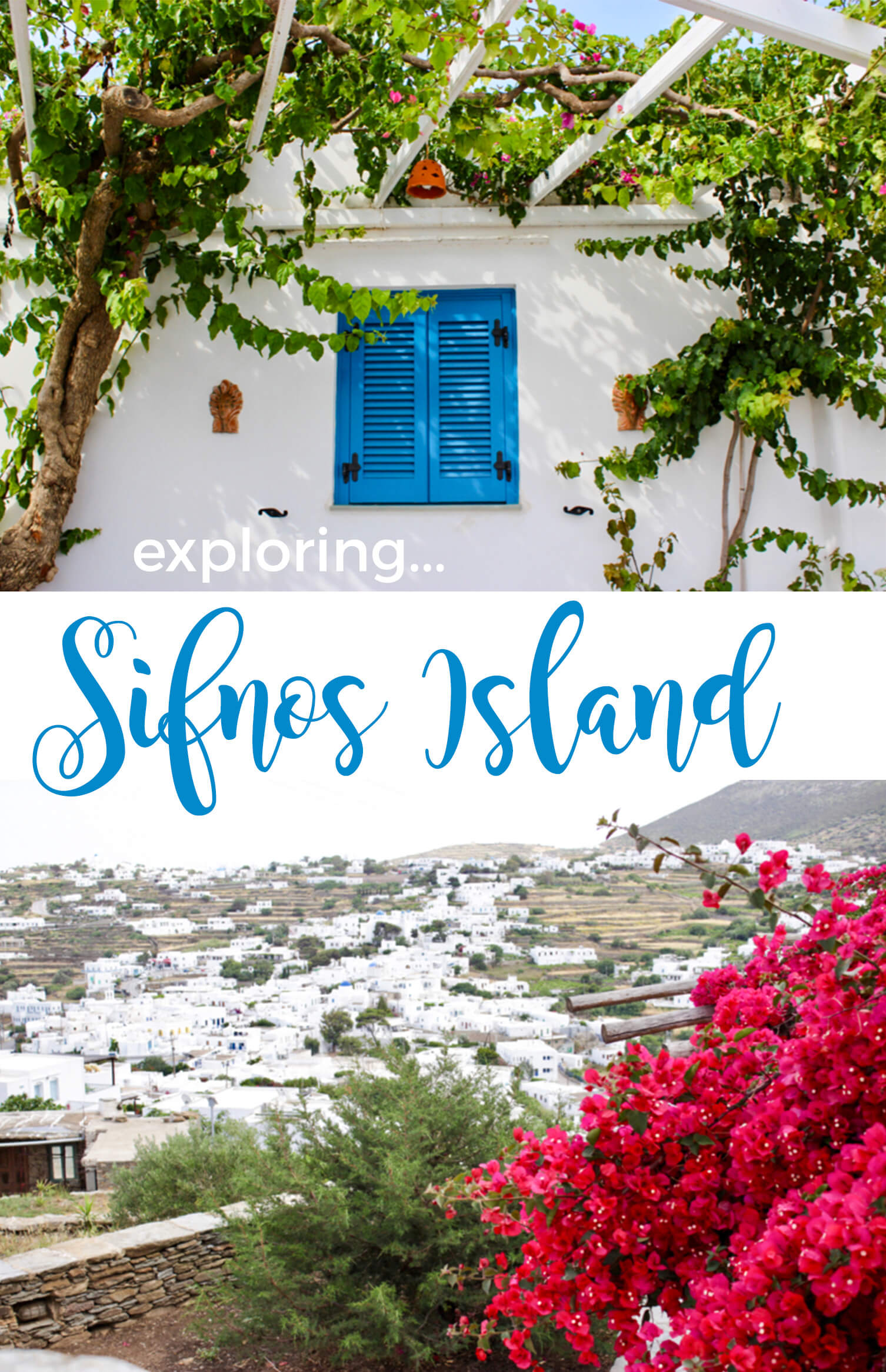exploring sifnos island