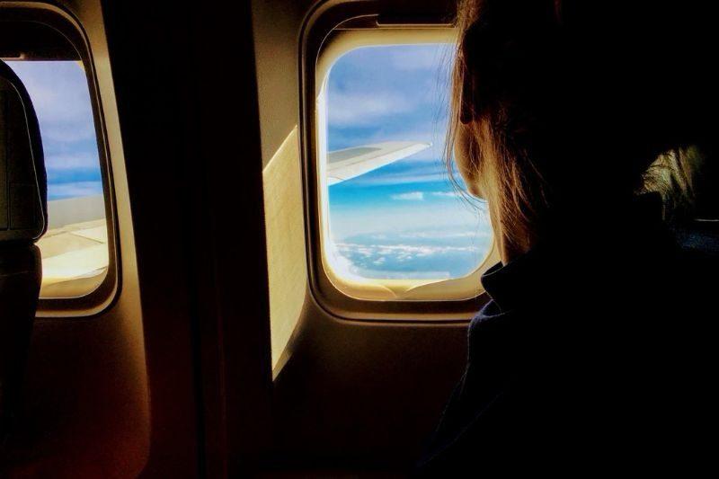 woman in plane (1)