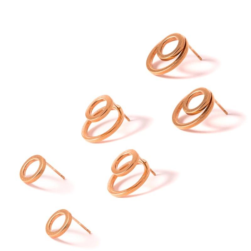 Popper Earrings by Kirsten Goss