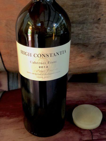 High Constantia Cabernet Franc
