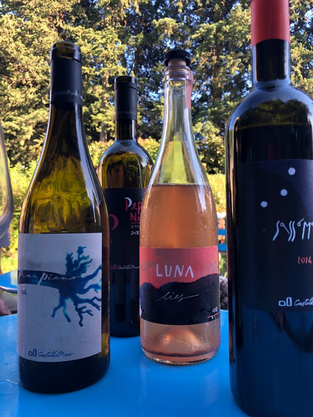 A range of very good wine